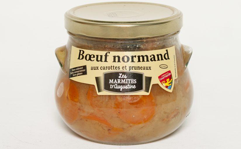 Bœuf Normand aux carottes et aux pruneaux