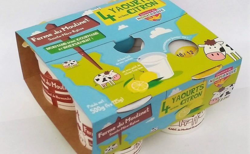 Yaourt arôme naturel citron