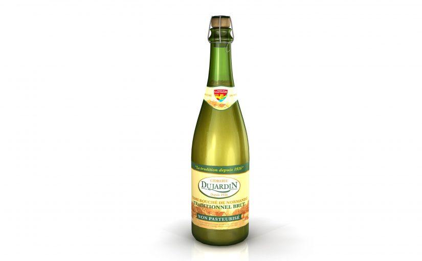 Cidre bouché de Normandie brut traditionnel non pasteurisé CCP/IGP
