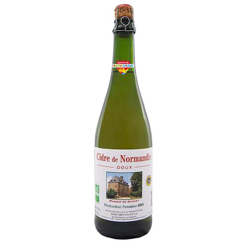 Cidre de Normandie IGP AB Doux Manoir de Durcet