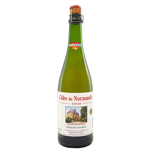 Cidre de Normandie IGP Doux Manoir de Durcet