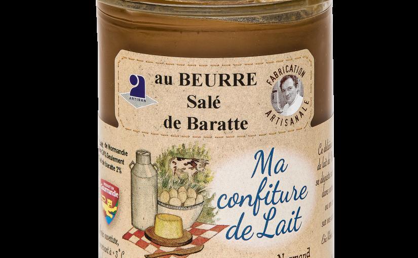 Confiture de lait au beurre salé de Baratte