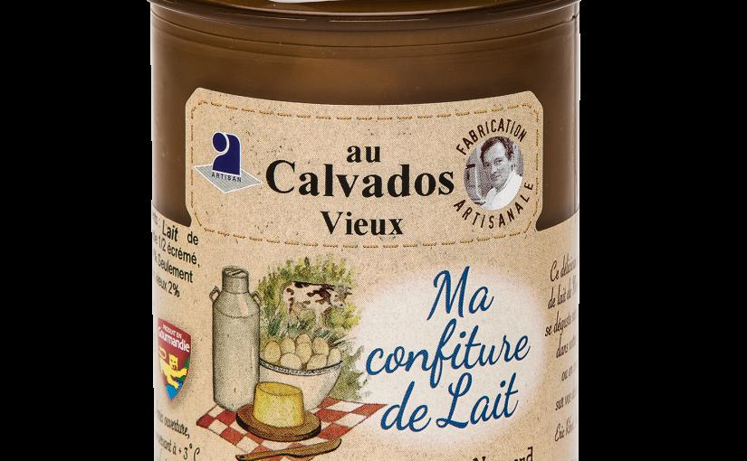 Confiture de lait au Calvados vieux