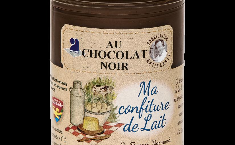 Confiture de lait au chocolat noir