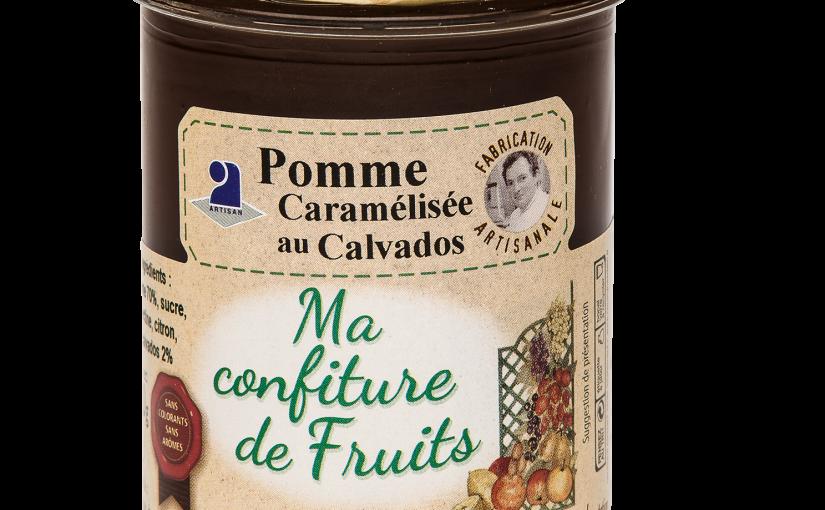 Confiture Pomme caramélisée au Calvados