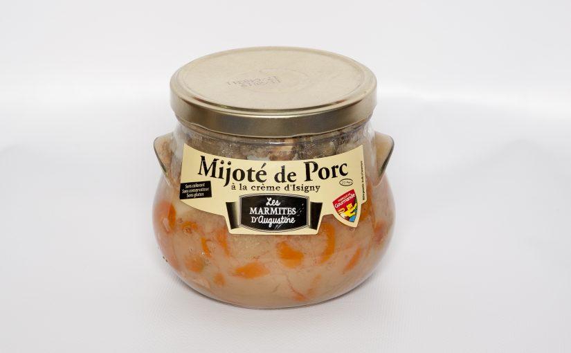 Mijoté de Porc à la crème d'Isigny