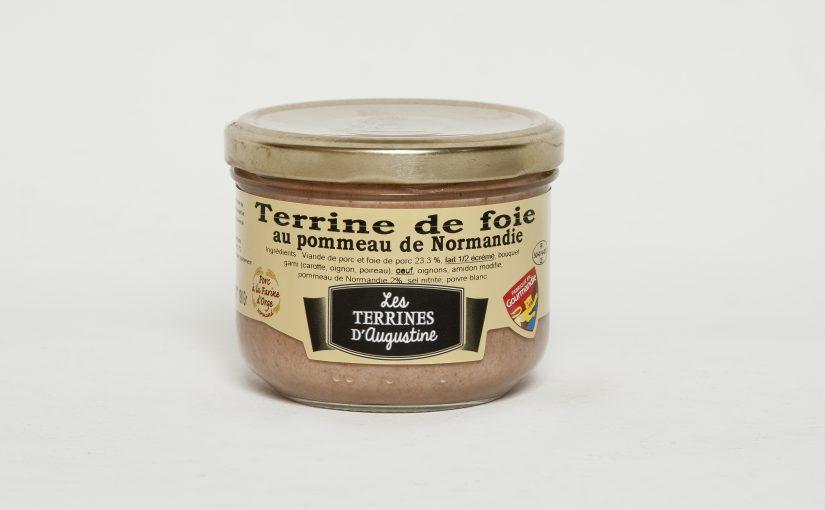 Terrine de foie au Pommeau de Normandie