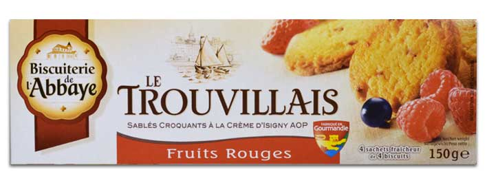 Les Trouvillais Fruits Rouges
