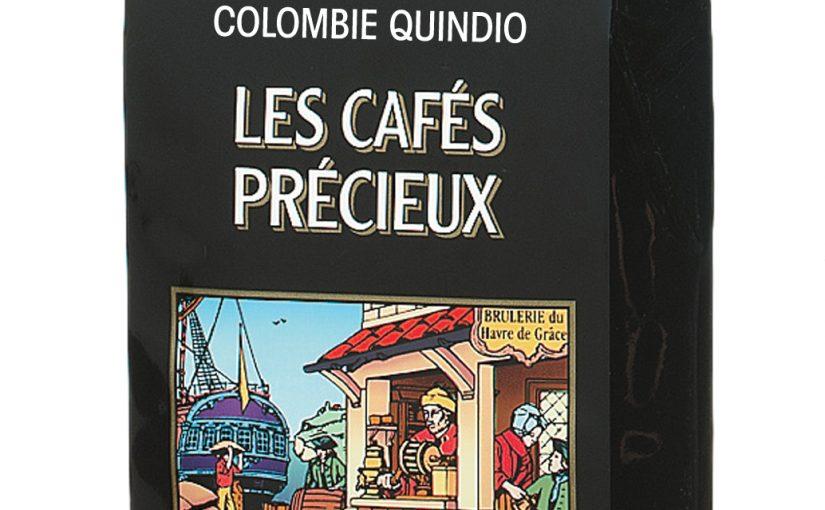 Café pure origine Colombie Quindio moulu filtre