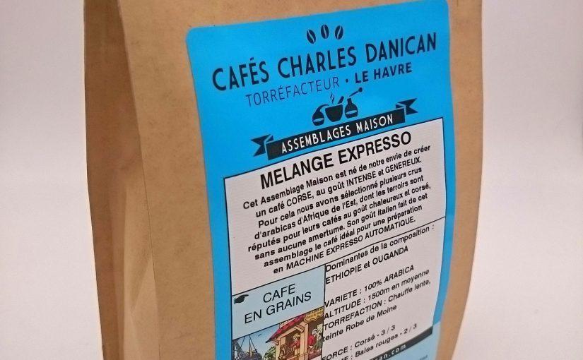 Café mélange expresso grains