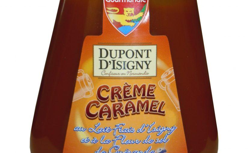 Crème de caramel au lait frais et à la fleur de sel de Guérande