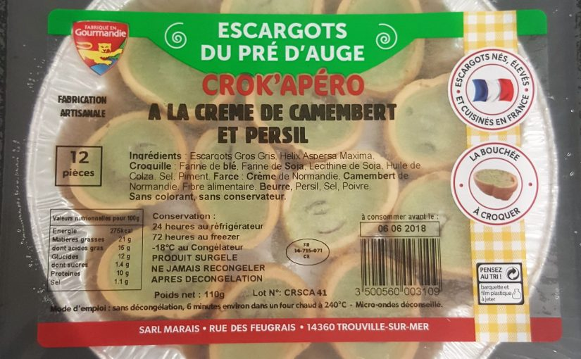 Crok'Apéro à la crème de camembert et persil