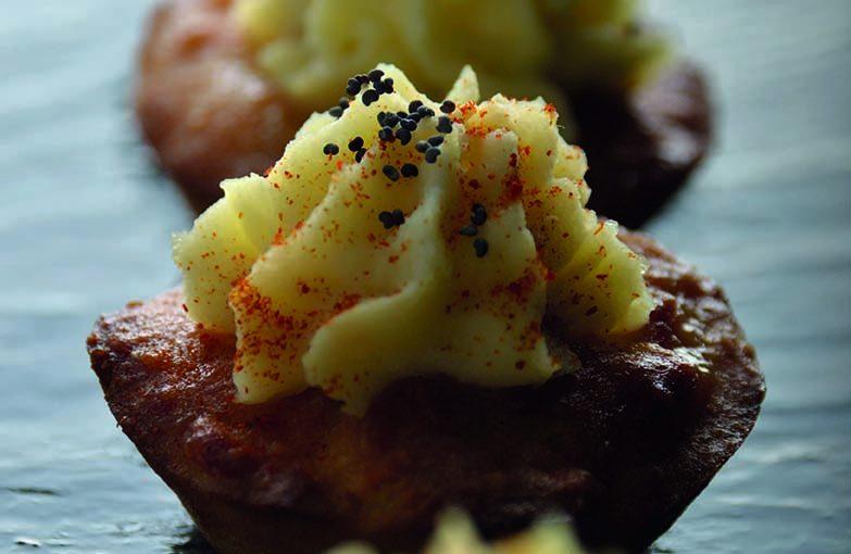 Gâteau sucré à la pomme de terre «façon cupcake»