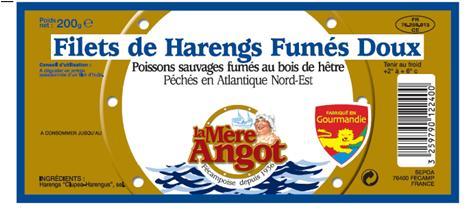 Filets de harengs fumés doux La Mère Angot