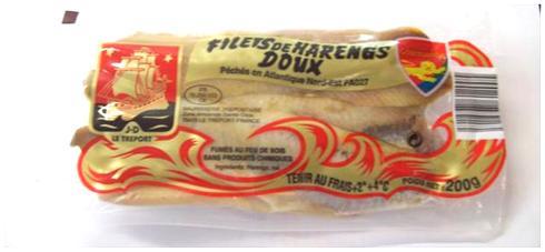Filets de hareng doux Charles Delgove