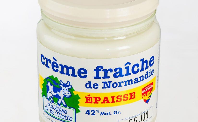 Crème fraîche de Normandie épaisse 42% MG