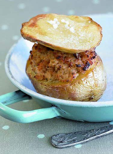 Pomme de terre farcie à la roussette