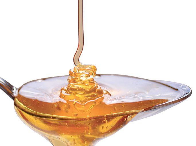 Porcelet laqué au miel de normandie, chutney pomme-mangue