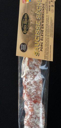 Saucisse sèche 100 % Porc Normand