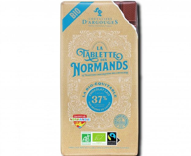 La Tablette Bio-Fairtrade chocolat lait