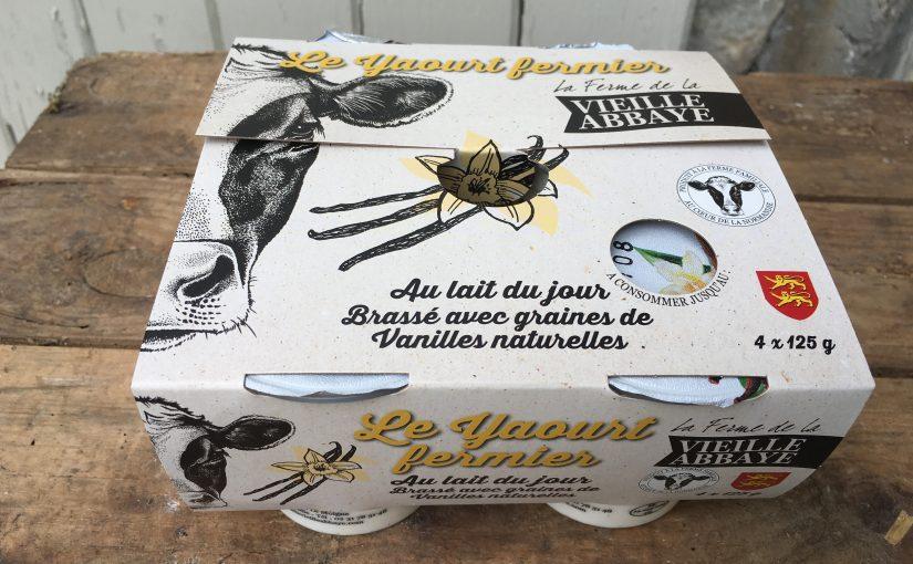 Yaourt brassé fermier vanille