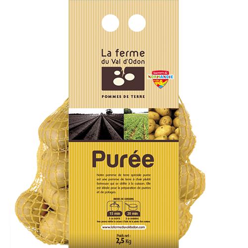 Pommes de terre filet 2,5kg purée