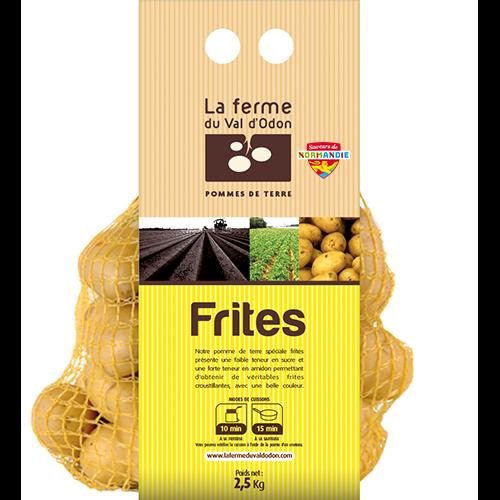 Pommes de terre filet 2,5kg frites