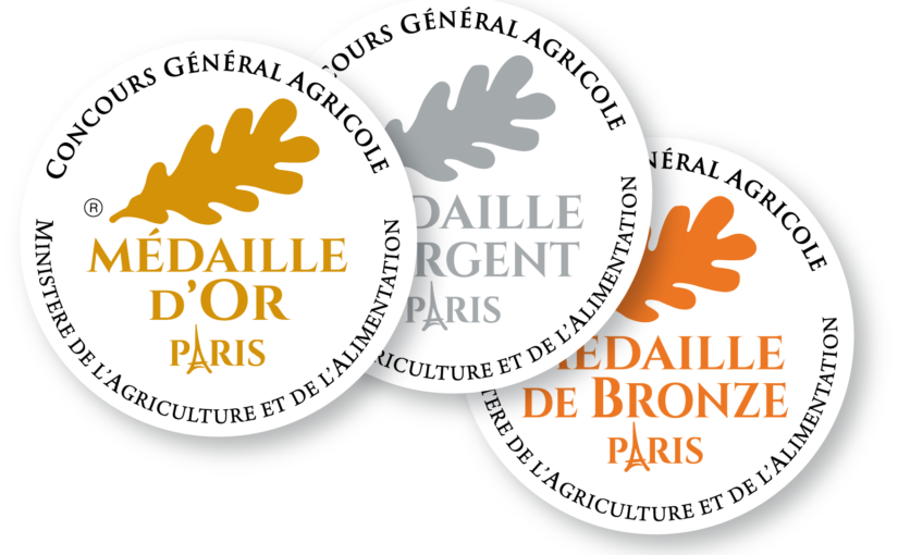 Palmarès Concours Général Agricole Produits 2020