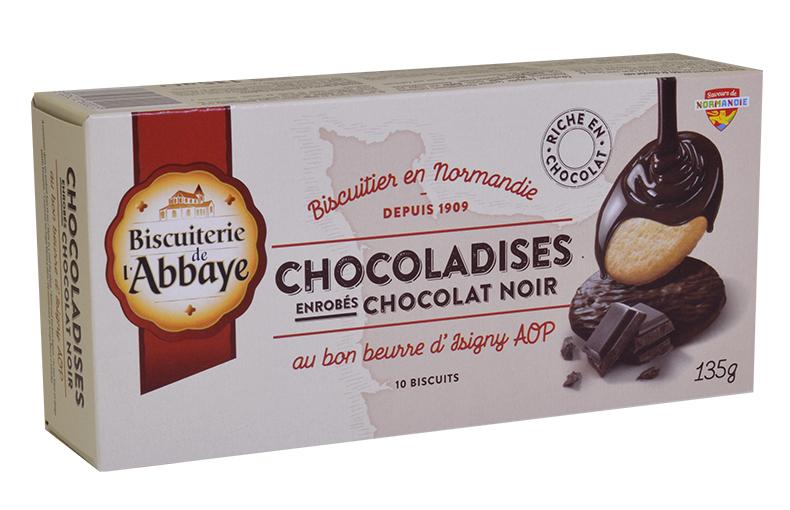 Chocoladises – Sablés au chocolat noir au bon beurre d'Isigny AOP