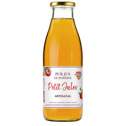 Jus de pomme artisanal Petit Jules