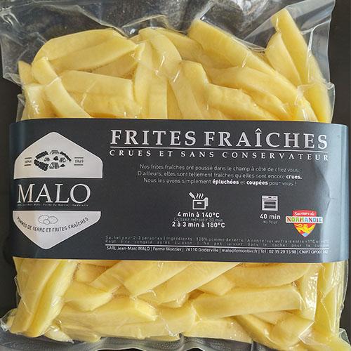 Frites fraîches 1kg