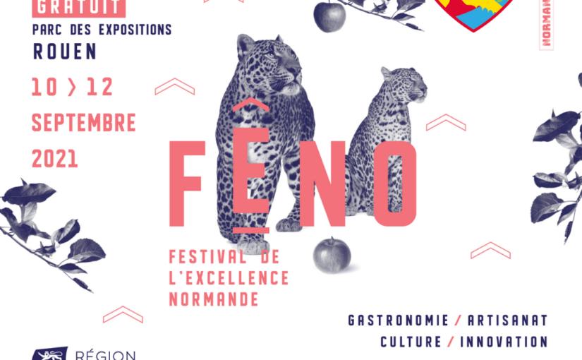 Retrouvez-nous au FÊNO 2021 à Rouen !